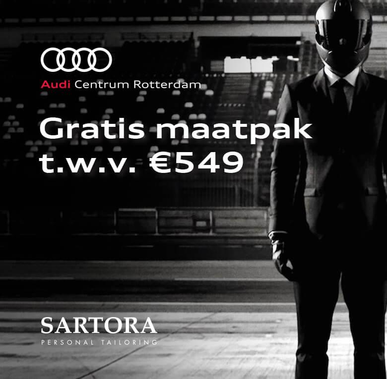 Gratis maatpak bij Audi